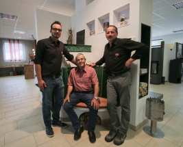 Ensslin Hummel Kachelofenbau Team