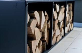 Holz-Ofen-Regal-Ensslin
